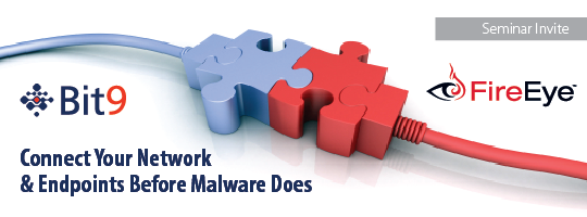 Exclusive Lunch Seminar: Connect Your Network & Endpoints Before Malware Does