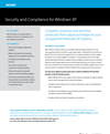 Security and Compliance for Windows XP