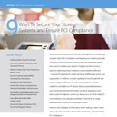 9 Ways To Secure Your Retail Systems and Ensure PCI Compliance