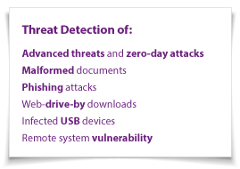 Bit9 Advanced Threat Detection Capabilities