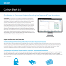 Carbon Black: One Solution for Continuous Endpoint Recording, Live Response & Threat Remediation