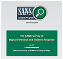SANS Survey: Digital Forensics and Incident Response