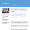 Securing Protected Health Information
