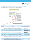 A Positive Security Approach to PCI DSS 3.0 Compliance