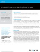 Advanced Threat Protection: Bit9 Server Security