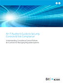 An IT Auditors Guide to Security Controls & Risk Compliance