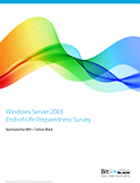 Windows Server 2003 End-Of-Life Preparedness Survey
