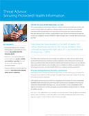 Threat Advisor: Securing Protected Health Information