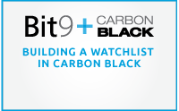 Building a Watchlist in Carbon Black