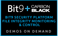 Bit9 Security Platform File Integrity Monitoring & Control