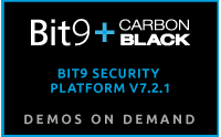 Bit9 Security Platform v7.2.1