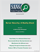 Server Security: A Reality Check